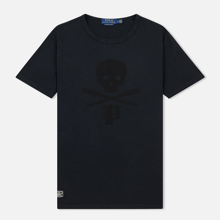 Мужская футболка Polo Ralph Lauren Custom Slim Fit Skull Print Black