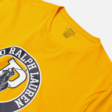 Мужская футболка Polo Ralph Lauren Front Print Big Pony & P Slicker Yellow фото- 1