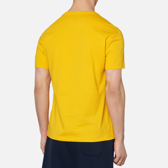 Мужская футболка Polo Ralph Lauren Front Print Big Pony & P Slicker Yellow