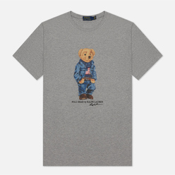 Мужская футболка Polo Ralph Lauren Iconic Polo Bear Andover Heather