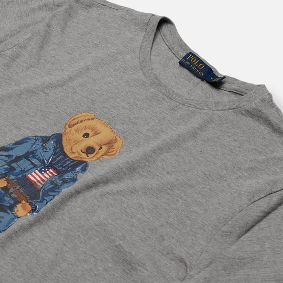 Мужская футболка Polo Ralph Lauren Iconic Polo Bear Andover Heather