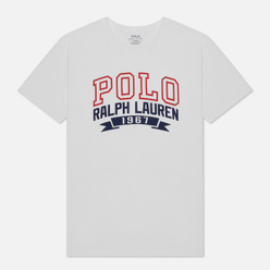 Мужская футболка Polo Ralph Lauren Logo Polo 1967 White