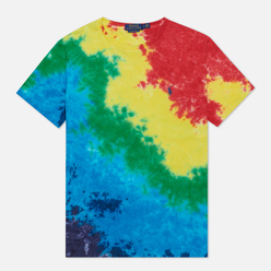 Мужская футболка Polo Ralph Lauren Logo Polo Pony Tie Dye Multicolor