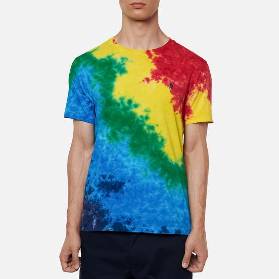Мужская футболка Polo Ralph Lauren Logo Polo Pony Tie Dye Multicolor