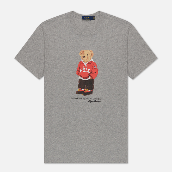 Мужская футболка Polo Ralph Lauren Polo Bear 26/1 Jersey Andover Heather