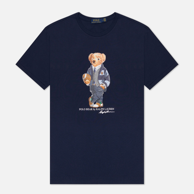 Мужская футболка Polo Ralph Lauren Polo Bear 26/1 Jersey Cruise Navy