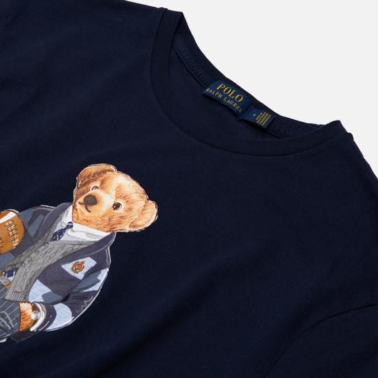 Мужская футболка Polo Ralph Lauren Polo Bear 26/1 Jersey Cruise Navy