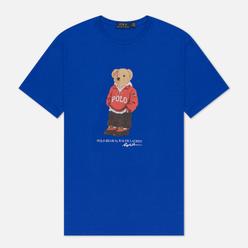 Мужская футболка Polo Ralph Lauren Polo Bear 26/1 Jersey Pacific Royal