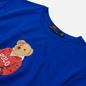 Мужская футболка Polo Ralph Lauren Polo Bear 26/1 Jersey Pacific Royal фото - 1