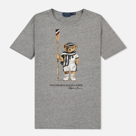 Мужская футболка Polo Ralph Lauren Polo Bear Bronx Heather