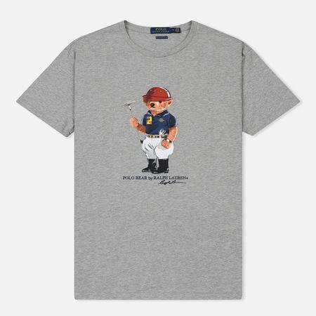 Мужская футболка Polo Ralph Lauren Polo Bear Classic Fit Andover Heather