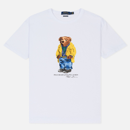 Мужская футболка Polo Ralph Lauren Polo Bear Classic Fit White