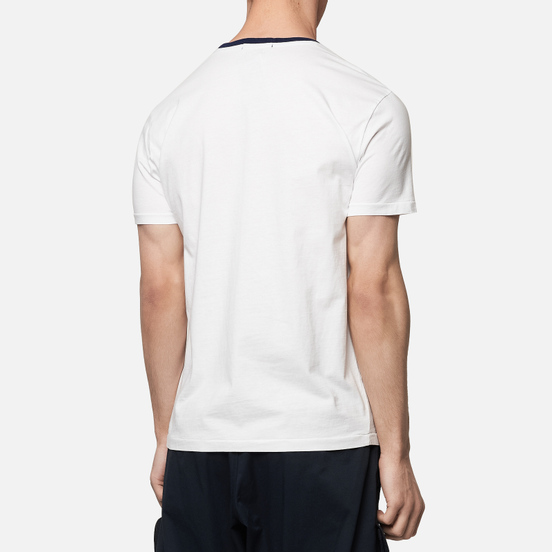 Мужская футболка Polo Ralph Lauren Polo Bear With American Flag White