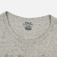 Мужская футболка Polo Ralph Lauren Polo Pony Mini Logo 26/1 Jersey Loft Heather фото- 1
