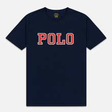 Мужская футболка Polo Ralph Lauren Polo Printed Cruise Navy фото- 0