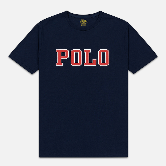 Мужская футболка Polo Ralph Lauren Polo Printed Cruise Navy