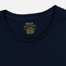 Мужская футболка Polo Ralph Lauren Polo Printed Cruise Navy фото- 1