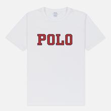 Мужская футболка Polo Ralph Lauren Polo Printed White фото- 0