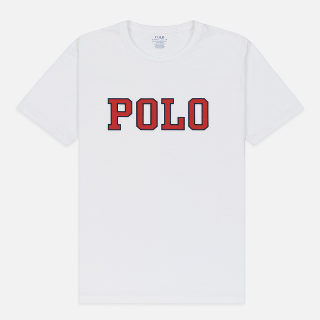 Мужская футболка Polo Ralph Lauren Polo Printed White