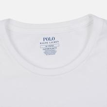 Мужская футболка Polo Ralph Lauren Polo Printed White фото- 1