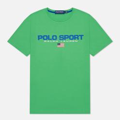 Мужская футболка Polo Ralph Lauren Polo Sport 26/1 Jersey Neon Green