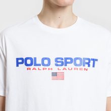 Мужская футболка Polo Ralph Lauren Polo Sport White фото- 2