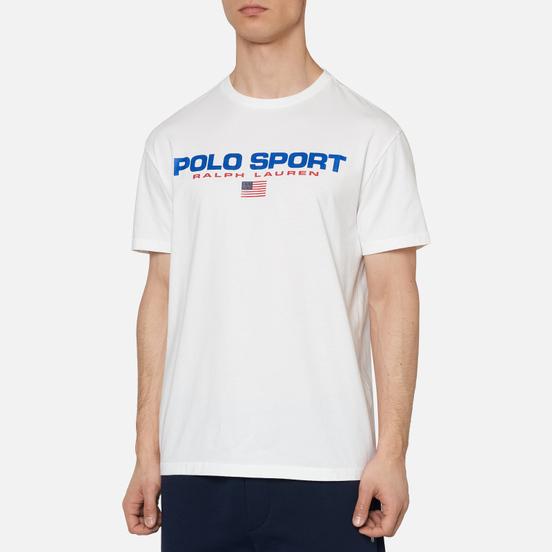 Мужская футболка Polo Ralph Lauren Polo Sport White