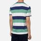 Мужская футболка Polo Ralph Lauren Three Strips Logo Polo Pony Haven Green/Multicolor фото - 3