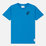 Мужская футболка Puma x Sesame Street Print '90s Characters French Blue фото- 0
