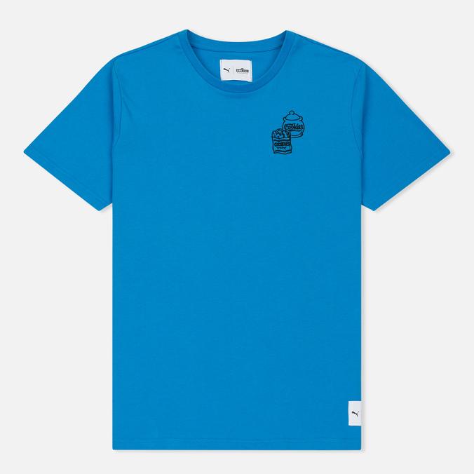 Мужская футболка Puma x Sesame Street Print '90s Characters French Blue