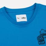 Мужская футболка Puma x Sesame Street Print '90s Characters French Blue фото- 1