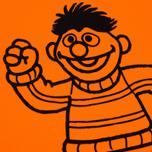 Мужская футболка Puma x Sesame Street Print '90s Characters Orange Clown Fish фото- 3