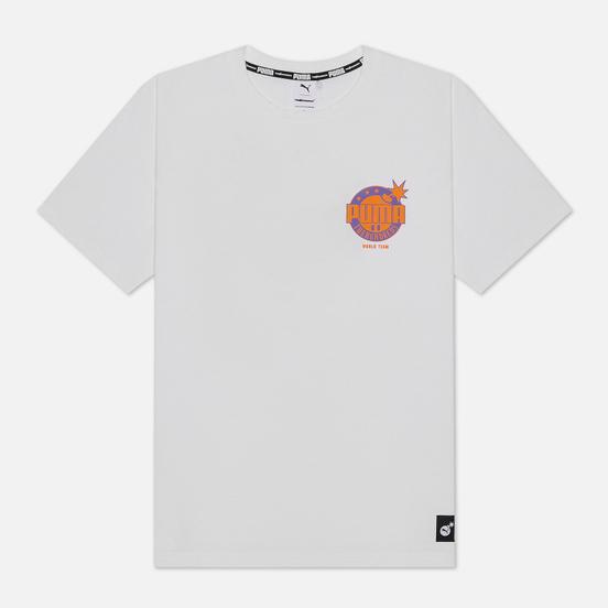 Мужская футболка Puma x The Hundreds Print White