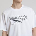 Мужская футболка Reebok Classic Vector White фото- 4