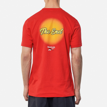Мужская футболка Reebok x Tom & Jerry Regular Crewneck Motor Red фото- 3
