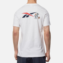 Мужская футболка Reebok x Tom & Jerry Regular Crewneck White фото- 3