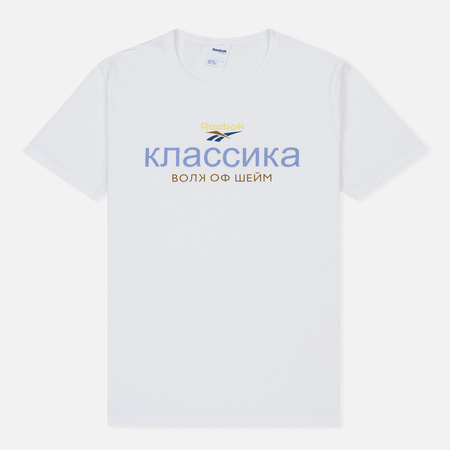 Мужская футболка Reebok x Walk of Shame Unisex 1 White