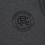 Мужская футболка Reigning Champ Crest Logo SS Tee Heather Charcoal фото- 3