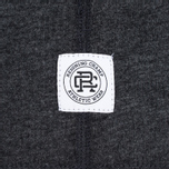 Reigning Champ Crest Logo SS Tee Men's t-shirt Heather Charcoal photo- 4