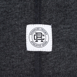 Мужская футболка Reigning Champ Crest Logo SS Tee Heather Charcoal фото- 4