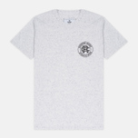 Reigning Champ Crest Logo SS Tee Men's t-shirt Snow photo- 0