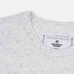 Reigning Champ Crest Logo SS Tee Men's t-shirt Snow photo- 1