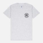 Мужская футболка Reigning Champ Crest Logo SS Tee Snow фото- 0