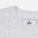 Мужская футболка Reigning Champ Crest Logo SS Tee Snow фото- 3