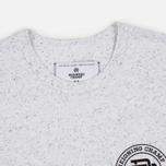 Мужская футболка Reigning Champ Crest Logo SS Tee Snow фото- 1
