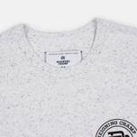 Reigning Champ Crest Logo SS Tee Men's t-shirt Snow photo- 2