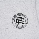 Reigning Champ Crest Logo SS Tee Men's t-shirt Snow photo- 3