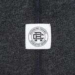 Мужская футболка Reigning Champ Gym Logo SS Tee Heather Charcoal фото- 4