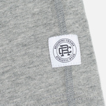Мужская футболка Reigning Champ Gym Logo SS Tee Heather Grey фото- 3