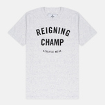 Reigning Champ Gym Logo SS Tee Men's t-shirt Snow photo- 0